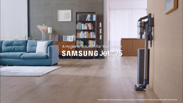 Samsung Jet75 and Clean Station™: A Hygiene Solution for Your Home