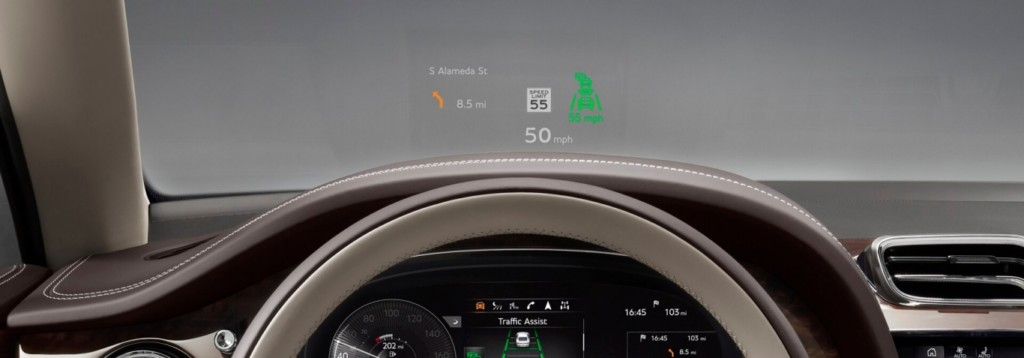 Innovative technologies in the new Bentley Bentayga 2