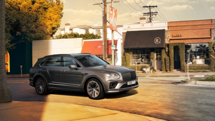 Innovative technologies in the new Bentley Bentayga